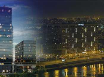 Проект комплекса апартаментов Neva Sky